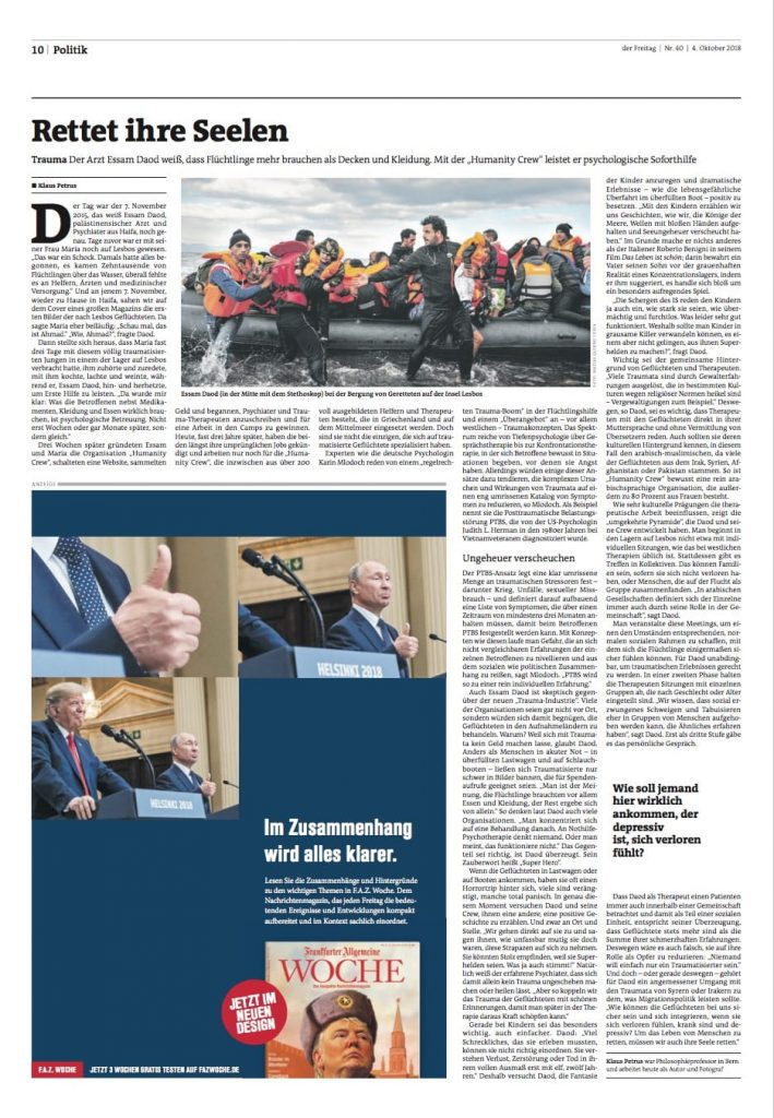 German-newspaper-Der-Freitag-4th-Oct-2018-709x10241